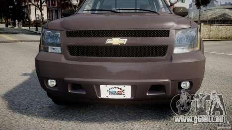 Chevrolet Tahoe Indonesia Police pour GTA 4 est une vue de l'intérieur