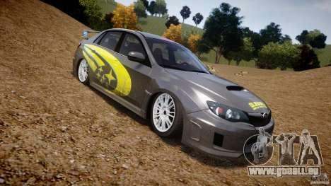 Subaru Impreza WRX STi 2011 Subaru World Rally für GTA 4