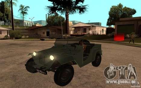 GAZ 67 b pour GTA San Andreas
