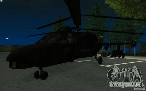 KA-52 ALLIGATOR v1.0 pour GTA San Andreas
