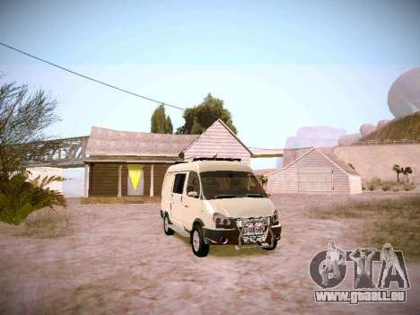 GAZ 2217 Business pour GTA San Andreas