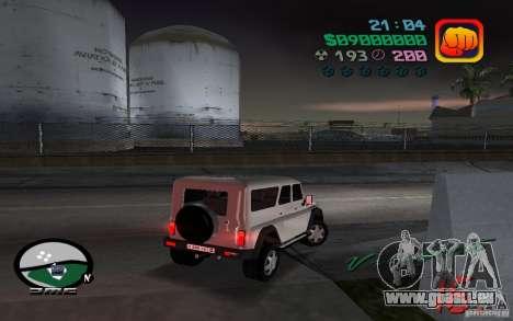 UAZ-3159 für GTA Vice City linke Ansicht