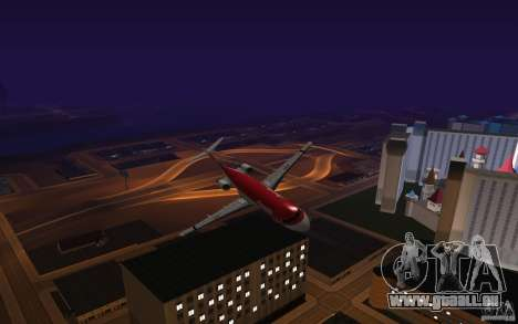 Fokker-100 pour GTA San Andreas