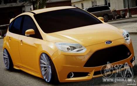 Ford Focus ST Mk.III 2013 pour GTA 4 est une gauche