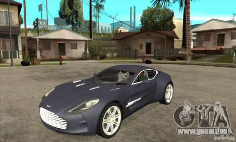 Aston Martin One-77 für GTA San Andreas