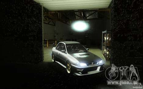 Subaru Impreza 22B für GTA San Andreas rechten Ansicht