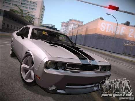 Dodge Challenger SRT8 v1.0 pour GTA San Andreas laissé vue