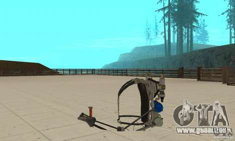 Un Jetpack nouveau pour GTA San Andreas quatrième écran