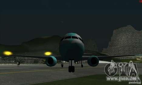 AT-400 auf allen Flughäfen für GTA San Andreas fünften Screenshot