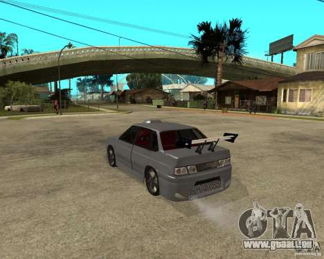 MCC VAZ 2115 pour GTA San Andreas laissé vue