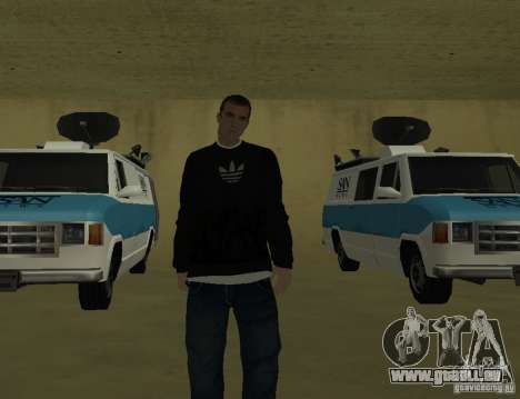Italienische Reporter für GTA San Andreas dritten Screenshot