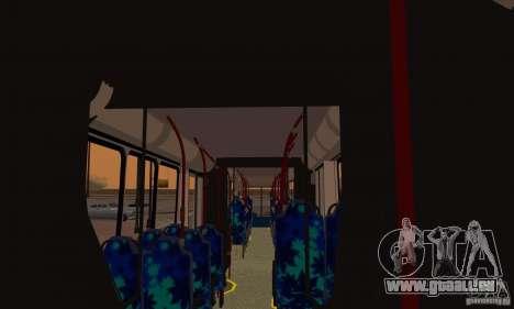 Caio Induscar Millenium II pour GTA San Andreas vue intérieure
