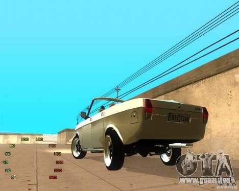 GAZ Volga 2410 el Cabrio für GTA San Andreas linke Ansicht