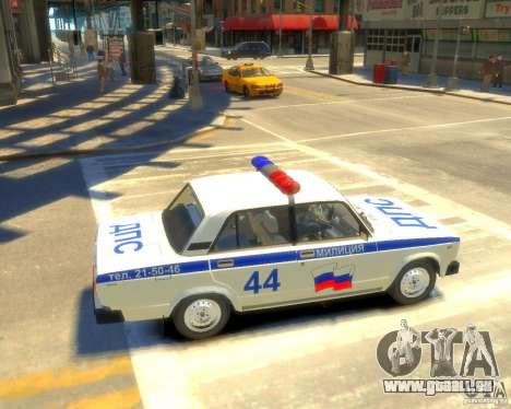 VAZ-2105-Polizei für GTA 4
