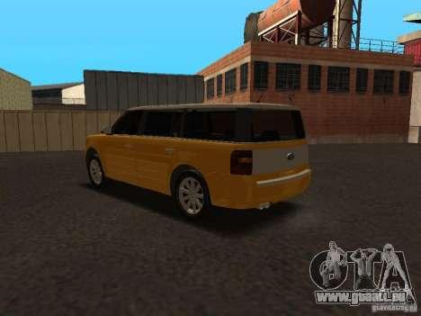 Ford Flex für GTA San Andreas rechten Ansicht