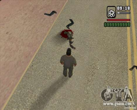 Real Ragdoll Mod Update 2011.09.15 für GTA San Andreas siebten Screenshot