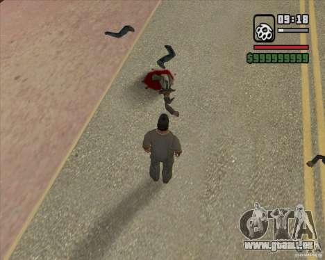 Real Ragdoll Mod Update 2011.09.15 pour GTA San Andreas septième écran