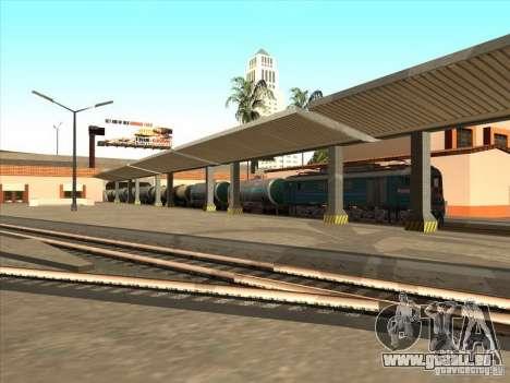 Tank # 57929572 für GTA San Andreas Rückansicht