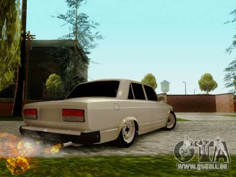 VAZ 2107 für GTA San Andreas Unteransicht