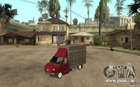 Volkswagen Crafter Case Closed für GTA San Andreas
