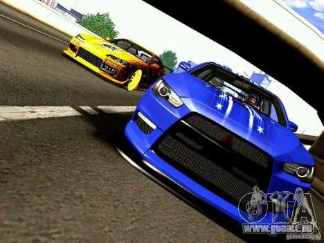 Nissan Silvia S15 Juiced2 HIN pour GTA San Andreas vue de dessus
