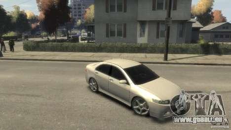 Honda Accord Type-S 2003 pour GTA 4 est un droit