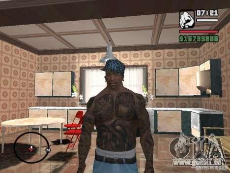 New York Cap für GTA San Andreas her Screenshot