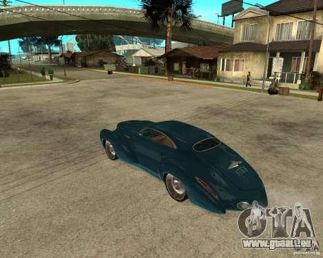 Holden Efijy pour GTA San Andreas laissé vue