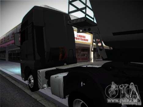MAN TGA pour GTA San Andreas vue de droite