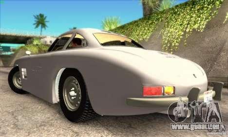Mercedes-Benz 300 SL pour GTA San Andreas laissé vue