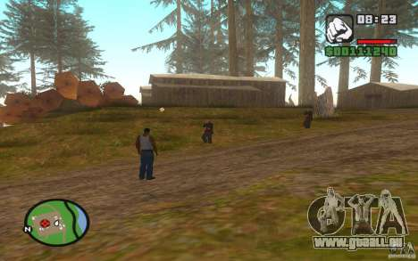 Mortal Kombat pour GTA San Andreas deuxième écran