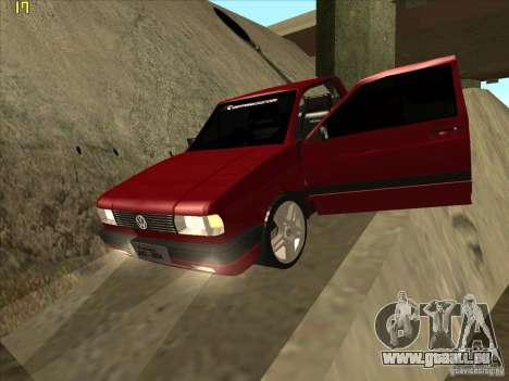 Volkswagen Saveiro Summer für GTA San Andreas obere Ansicht