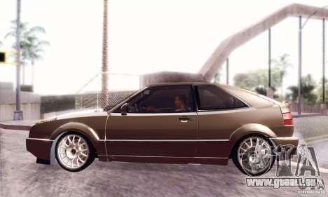 Volkswagen Corrado für GTA San Andreas zurück linke Ansicht