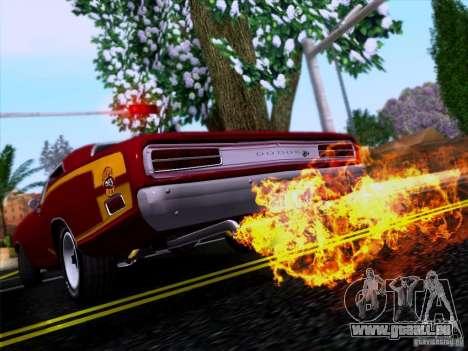Dodge Coronet Super Bee v2 pour GTA San Andreas vue intérieure