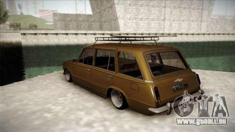 VAZ 2102 Floride pour GTA San Andreas sur la vue arrière gauche