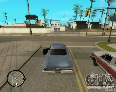 Detailed Map and Radar Mod pour GTA San Andreas troisième écran