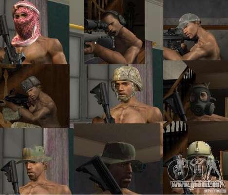 Chapeaux de Call of Duty 4: Modern Warfare pour GTA San Andreas