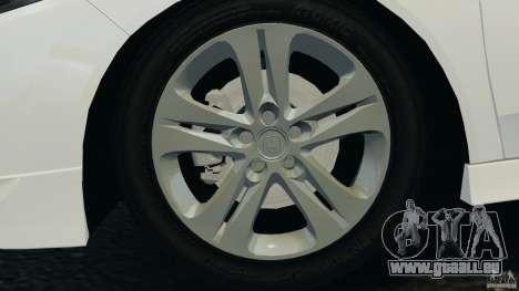 Honda Accord Type S 2008 für GTA 4 Seitenansicht