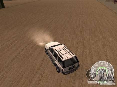 Chevrolet Trail Blazer für GTA San Andreas rechten Ansicht