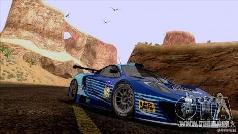 Peinture fonctionne McLaren MP4-12 c Speedhunter pour GTA San Andreas