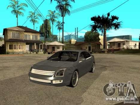 Ford Fusion 2008 Dub pour GTA San Andreas