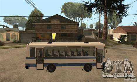 LAZ-A141 für GTA San Andreas Rückansicht