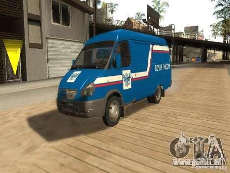 Courrier de Gazelle 2705 de Russie pour GTA San Andreas