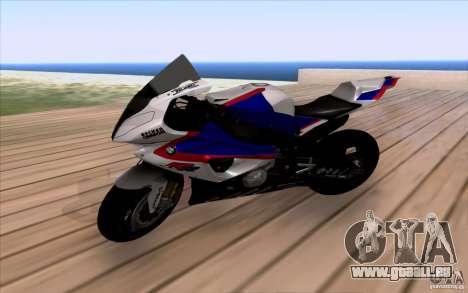 BMW S1000 RR für GTA San Andreas
