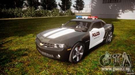 Chevrolet Camaro Police (Beta) pour GTA 4