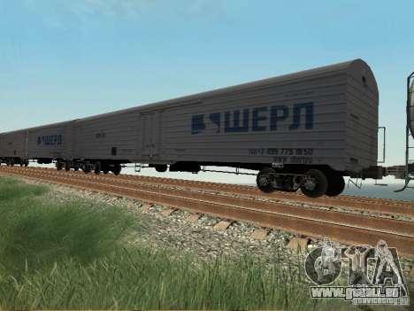 Wagons de marchandises pour GTA San Andreas