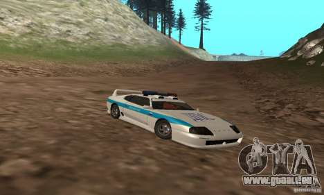 Jester Russian Police pour GTA San Andreas vue de côté