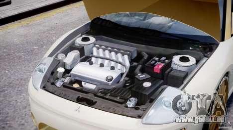 Mitsubishi Eclipse GTS Coupe für GTA 4 Innenansicht