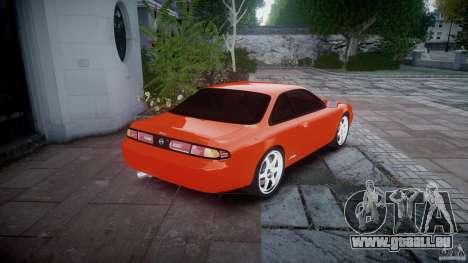 Nissan Silvia Ks 14 1994 v1.0 für GTA 4 hinten links Ansicht