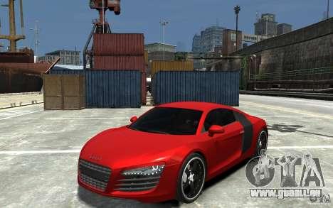 Audi R8 2008 pour GTA 4